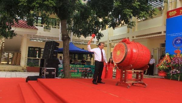 Phó Thủ tướng Trương Hòa Bình dự khai giảng năm học mới tại Thanh Hoá
