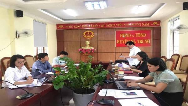 Sở Tư pháp Thanh Hóa kiểm tra hoạt động Ban vì sự tiến bộ phụ nữ năm 2019