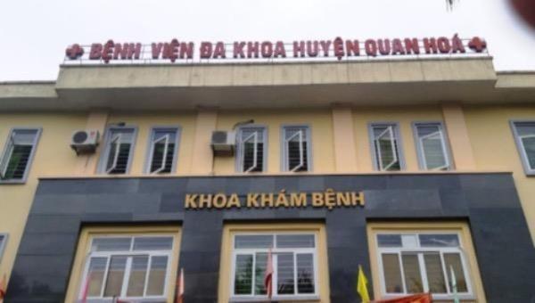 Bắt nguyên giám đốc bệnh viện Quan Hoá vì nhận hối lộ
