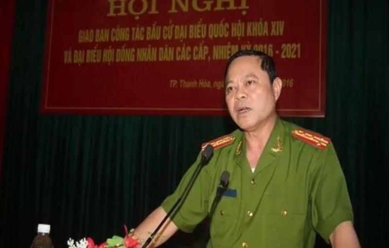 Ngày 18/03 xét xử vụ Trưởng Công an TP Thanh Hóa nhận hối lộ