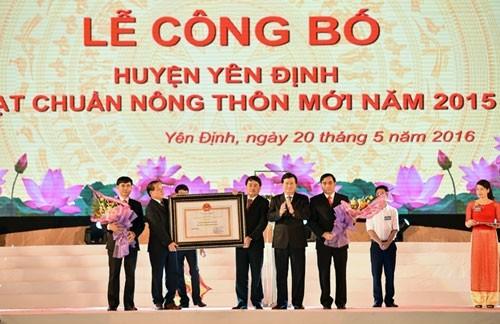 Tỉnh uỷ Thanh Hoá yêu cầu làm rõ vụ huyện Yên Định nợ hơn 52 tỉ đồng