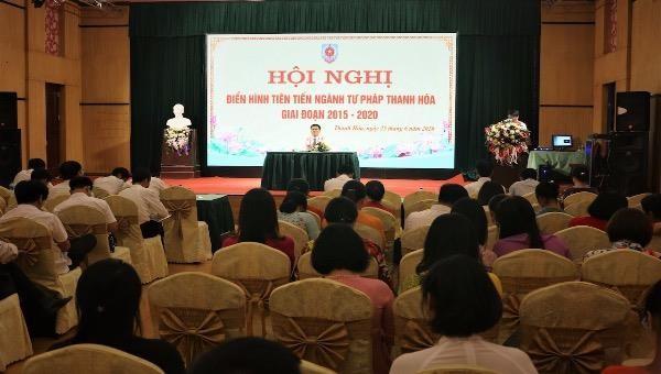 Thanh Hoá: Tổ chức hội nghị điển hình tiên tiến ngành tư pháp giai đoạn 2015-2020