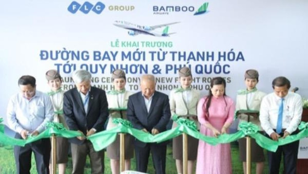 Thanh Hoá khai trương thêm 2 đường bay nội địa đi Quy Nhơn và Phú Quốc
