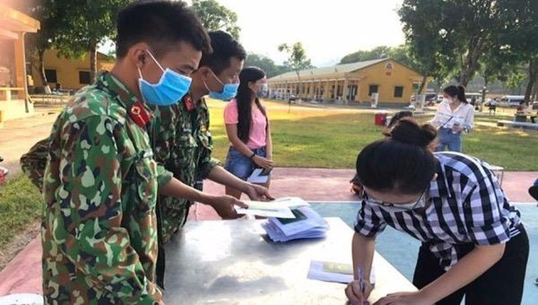 5.529 người từ Đà Nẵng và các vùng dịch khác về Thanh Hóa