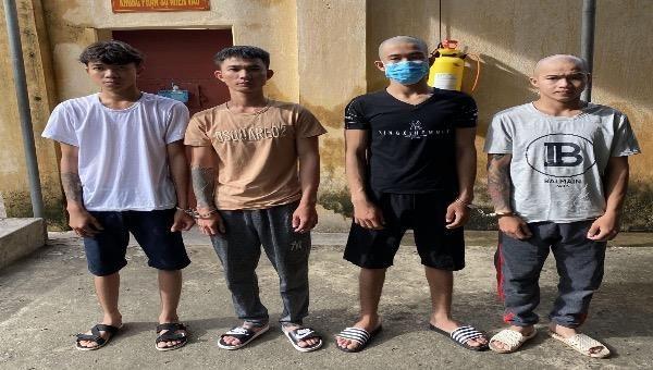 Thanh Hoá: Bắt 4 thuyền viên Quảng Ngãi vì ghé vào Thanh Hoá chơi ma tuý
