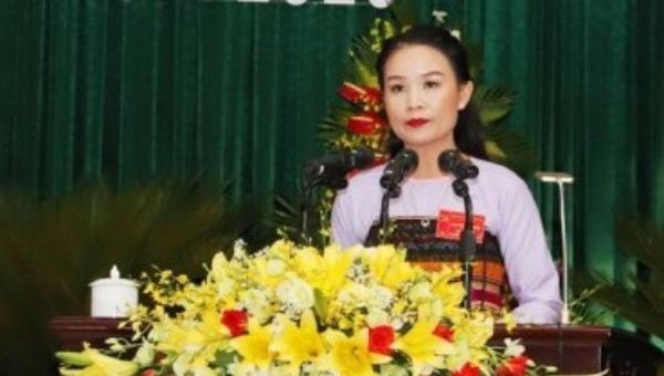 Bà Hà Thị Hương - tân Bí thư Huyện ủy Quan Hóa, Thanh Hoá.