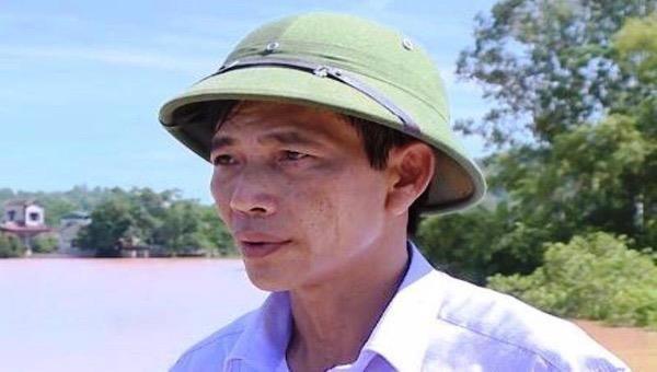 ông Nguyễn Văn Long nguyên phó chủ tịch huyện Hậu Lộc, Thanh Hoá.