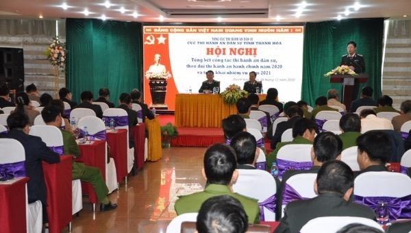 Thi hành án dân sự Thanh Hoá triển khai nhiệm vụ năm 2021