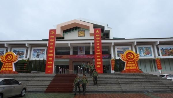 Đại hội Đại biểu Đảng bộ tỉnh Hà Tĩnh lần thứ XIX, nhiệm kỳ 2020 – 2025 được tổ chức tại Trung tâm Văn hóa - Điện ảnh tỉnh.