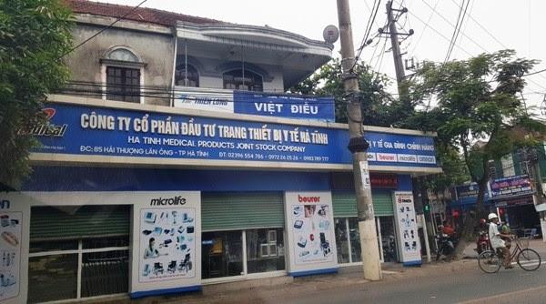 Khởi tố bị can vụ khuất tất trong mua sắm tại nhiều bệnh viện ở Hà Tĩnh