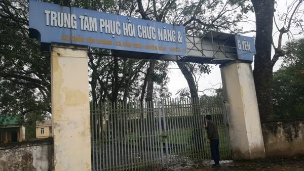 Cảnh hoang tàn tại Trung tâm chữa bệnh phục hồi chức năng và dưỡng sinh Võ Hoàng Yên
