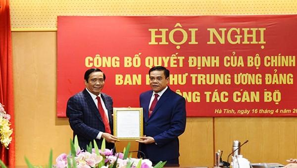 Hà Tĩnh có tân Chủ tịch tỉnh