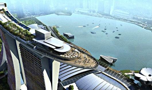 Vịnh Marina  của Singapore đã suýt bị tấn công khủng bố bằng tên lửa