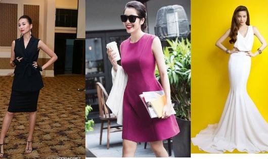 Học cách mặc đẹp của ba kiều nữ Việt