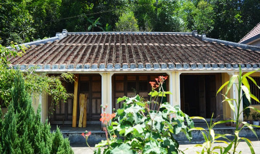 Hình ảnh về ngôi nhà cổ.