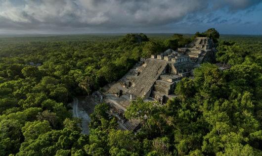 Vào thế kỷ thứ 7, các Xà vương đã cai trị kinh thành Calakmul (ngày nay là miền Nam Mexico), đây là kim tự tháp cao 54,7m.