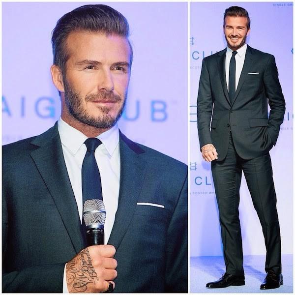 """Những bộ cánh thời trang """"đốn tim"""" phái đẹp của David Beckham 2"""