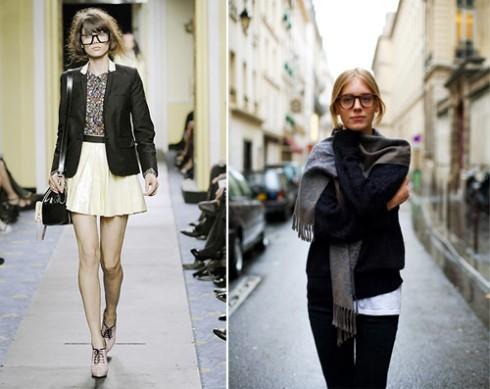 Phong cách thời trang Geek Chic với áo blazer