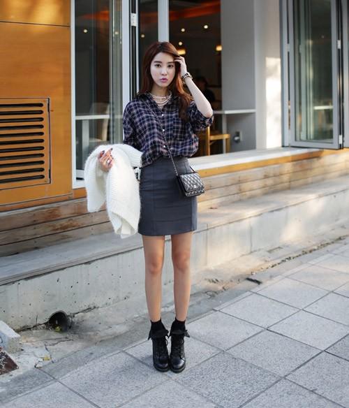 Cách mặc váy công sở sao cho bớt nhàm chán - 4