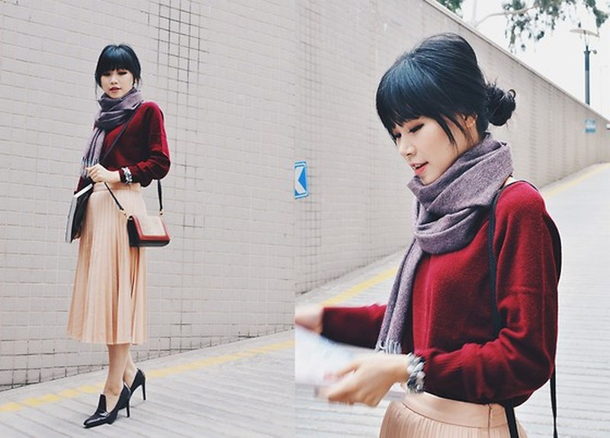 Hình ảnh: Học hot blogger phối đồ giúp trang phục công sở bớt nhàm chán số 12