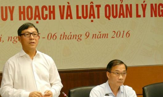 Thứ trưởng Bộ Kế hoạch - đầu tư cho rằng sản phẩm là do thị trường quyết định chứ không phải do ý chí hành chính qua quy hoạch