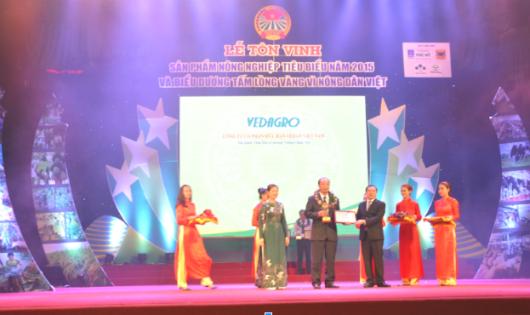 Sản phẩm Vedan Việt Nam được tôn vinh là sản phẩm nông nghiệp tiêu biểu