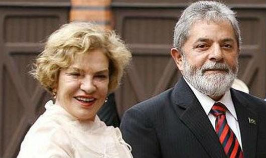 Vợ chồng cựu Tổng thống Lula da Silva