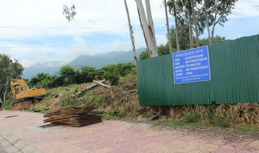 Diện tích đất người dân canh tác yên ổn hơn 40 năm nay mà Dự án CLB thể thao Cam Ranh định lấy trắng.