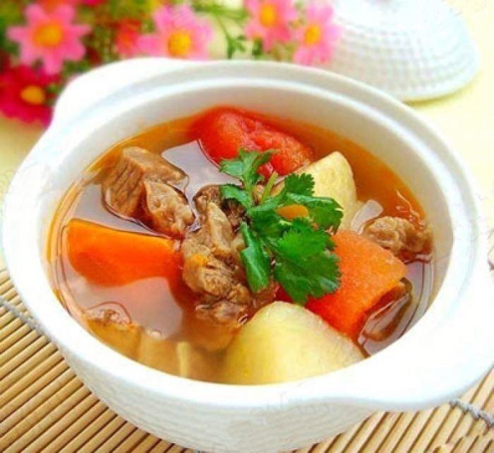 Kết quả hình ảnh cho Củ cải hầm xương ngon ngọt