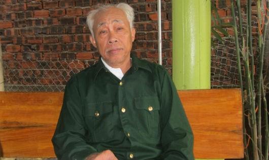 Ông Hà chia sẻ quá trình đúc tượng của mình