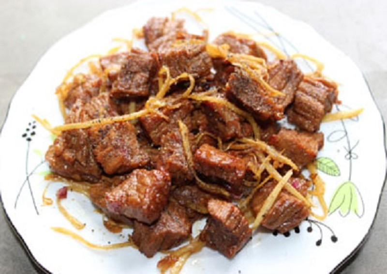 Kết quả hình ảnh cho thịt bò kho gừng