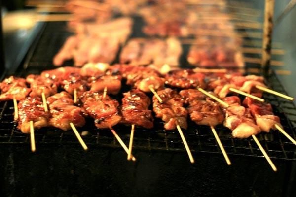 Kết quả hình ảnh cho Thịt xiên nướng