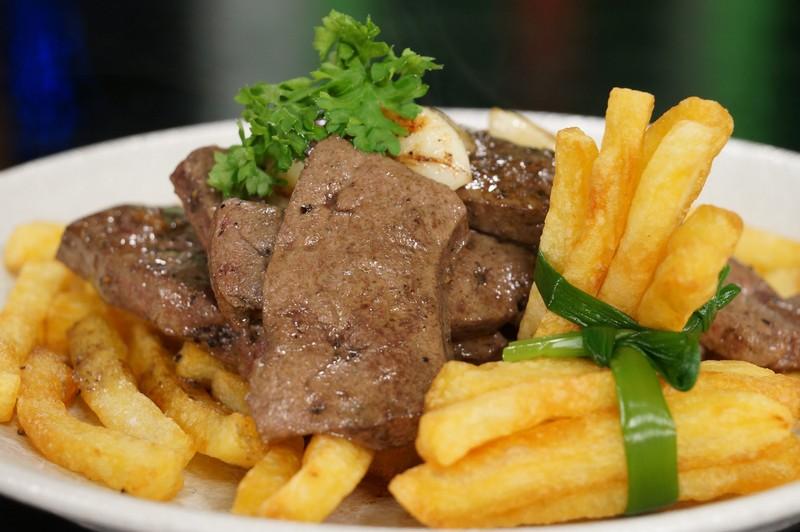 Kết quả hình ảnh cho thịt bò áp chảo