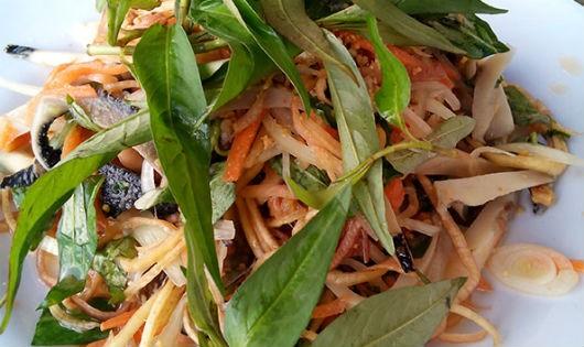 Gỏi ốc rau răm: món ngon cho ngày cuối tuần