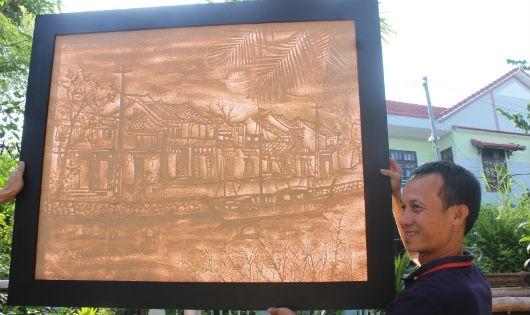 Nghệ sĩ giấy dừa