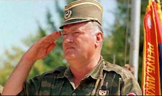 Tướng Ratko Mladic khi đương quyền