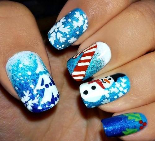 Kết quả hình ảnh cho nail cho ngày giáng sinh