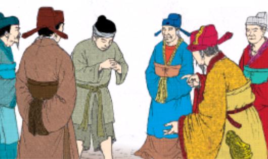 Vua quan hỏi dân về việc nước (Hình minh họa)