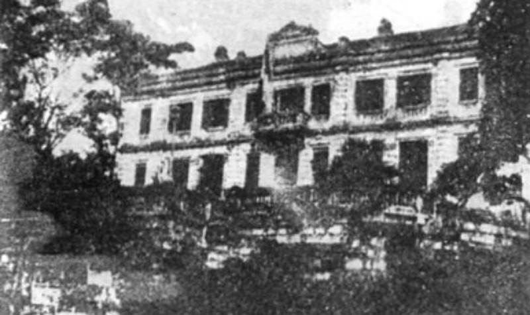 Dinh Công sứ Pháp tại Thái Nguyên