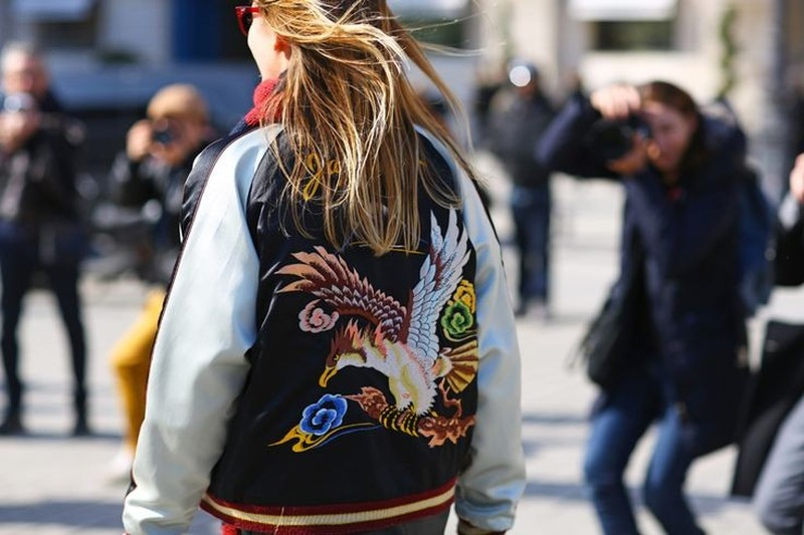 Kết quả hình ảnh cho Souvenir Jacket sao Châu Âu