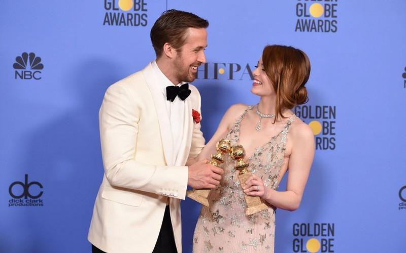 """Cặp diễn viên vàng của phim """"La La Land"""" Ryan Gosling và Emma Stone"""