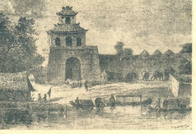 Cổng thành Phú Xuân thời Nguyễn sơ