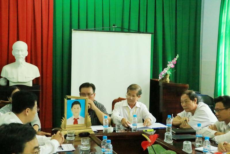 Buổi họp thông báo kết luận của Hội đồng chuyên môn thuộc Trung tâm y tế huyện Phú Giáo