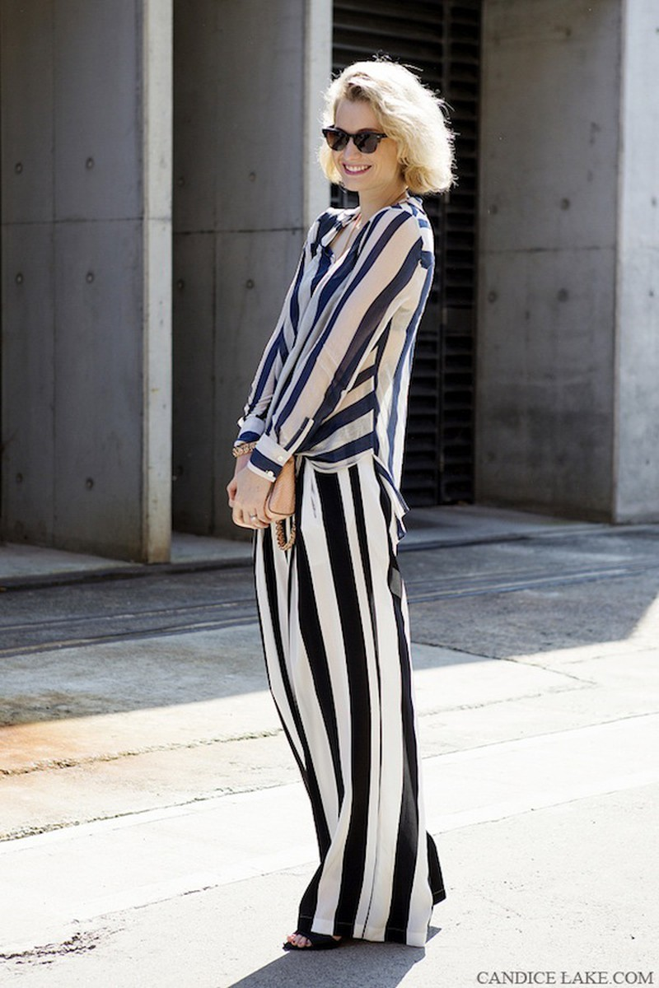Kết quả hình ảnh cho Trang phục Họa tiết sọc Sao Châu Âu