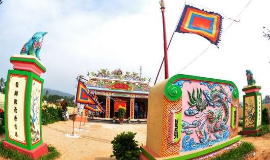Lăng Tân - nơi thờ Đồng đình Đại vương.