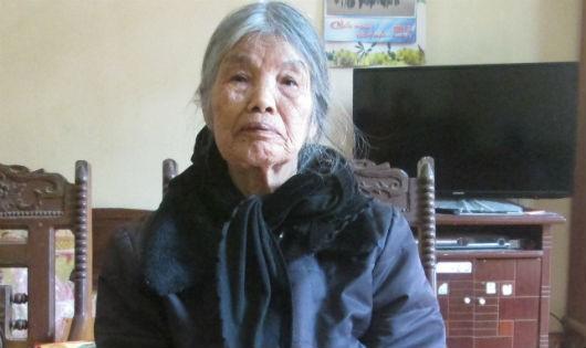Bà Bình cho rằng bị lừa chiếm đất.
