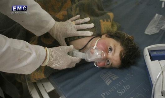 Lo ngại về vũ khí hóa học bùng lên sau vụ tấn công chết người ở Syria