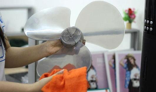 Mẹo hay giúp vệ sinh quạt điện cho gia đình bạn
