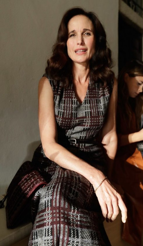 Nữ diễn viên Andie MacDowell