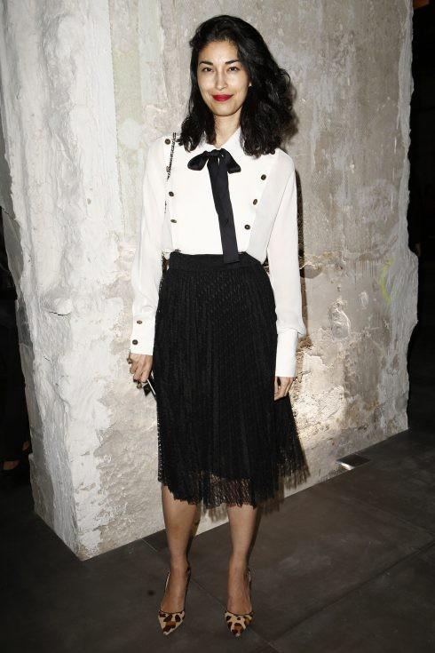Biên tập viên thời trang Caroline Issa